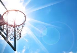 camp basket printemps
